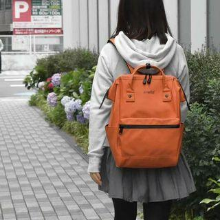 [AT-B2811]2019 New Arrival!! ANELLO LARGE PU BACKPACK~Orange