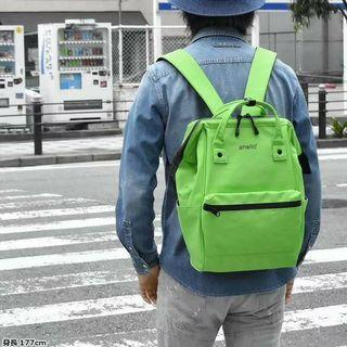 🚚 [AT-B2811]2019 New Arrival!! ANELLO LARGE PU BACKPACK -Green