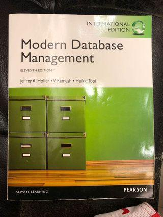 🚚 資料庫管理 Modern Database Management (11th Edition)