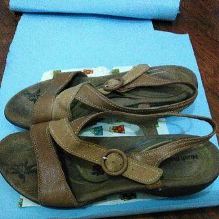 Sandal Hush Puppies Wedges Original Branded Shoes Sendal Sepatu Size 39