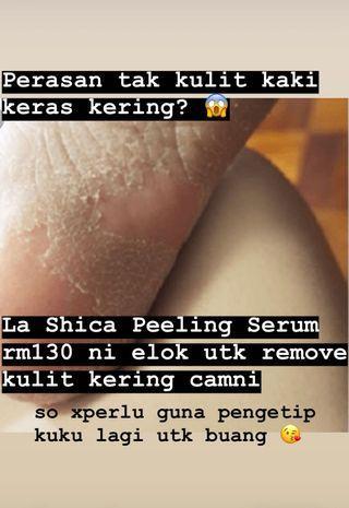 La Shica Peeling Serum rm130