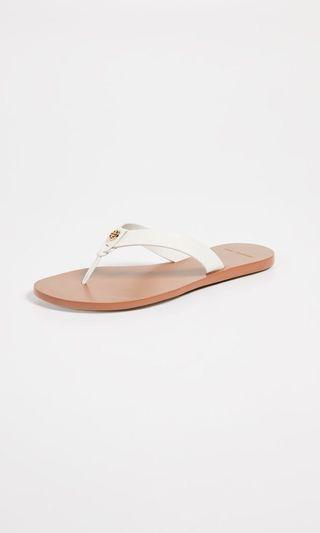 50b0d4bf8a5a Tory Burch Perfect Ivory Leather Sandals