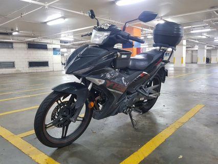 Yamaha Y15ZR Set Hitam 2016