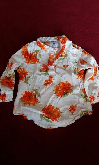 My Girl's Floral Top