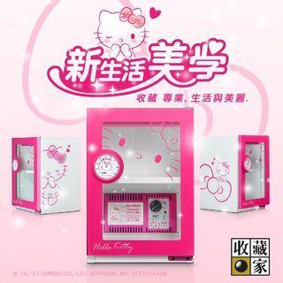 【Lily搬家出清】收藏家 X Hello Kitty 凱蒂貓 三麗鷗  粉紅超可愛防潮箱 少女心 保護相機 3C產品 限量款
