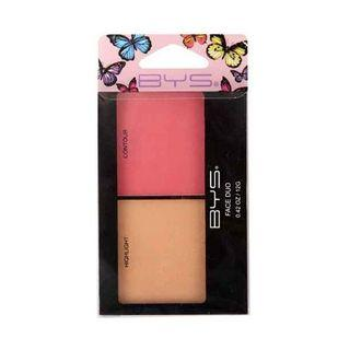 BYS Face Duo Butterfly Highlight & Blush 12g