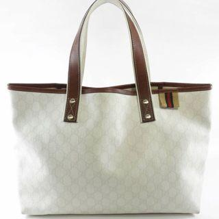 真Authentic Gucci white handbag tote 手袋 包包