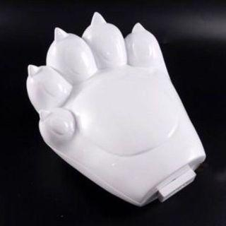 真 Kenzo Clutch Tiger Paw in White 女裝手袋 包包