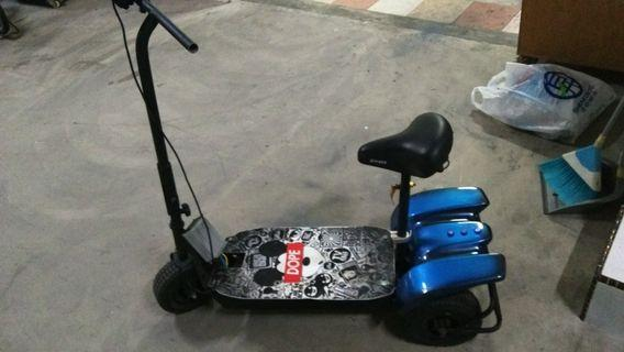 3 wheels e scooter