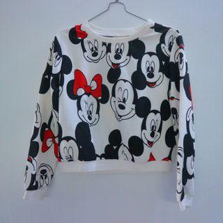 Sweater Mickey Mouse (Crop Top)