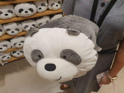 Boneka Bantal Miniso Pan Pan
