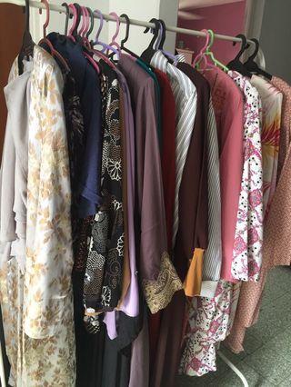 Clearing wardrobe