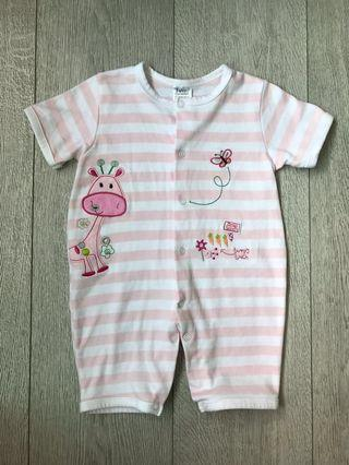 Brand New Without Tag Baby Romper