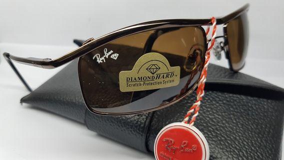 Kacamata Rayban diamondhard lens