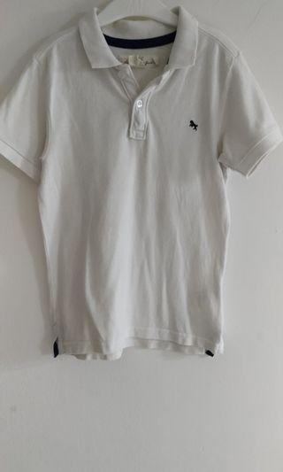 Polo Shirt White H&M