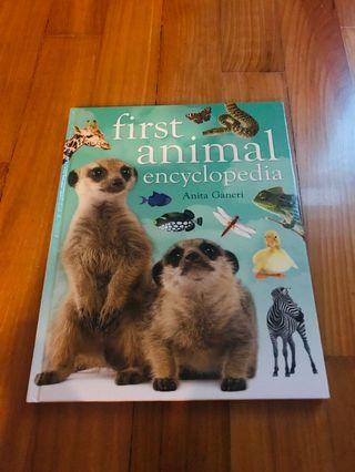 First Animal Encyclopedia (hard cover)