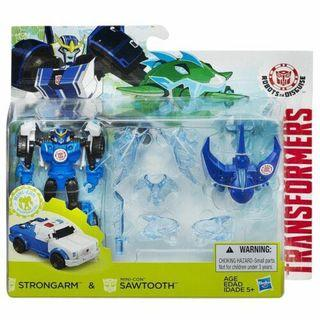 Transformers Robots in Disguise RID Strongarm & Sawtooth