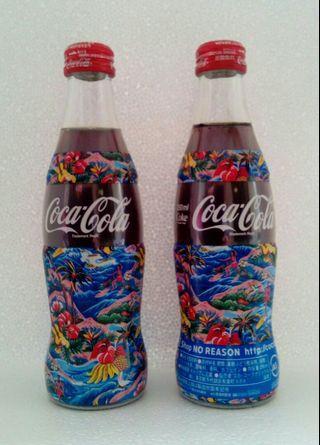 2000年 日本版經典玻璃瓶 NO REASON COKE