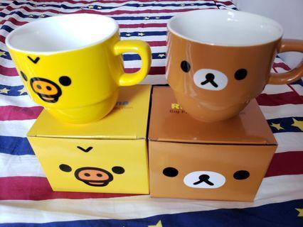 Rilakkuma Big Face Cup Collection