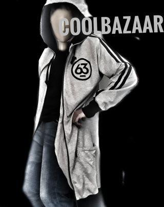 Team Manila Hoodie Jacket - Long with Zipper