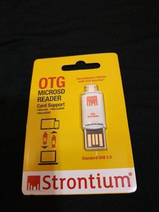 Strontium OTG MicroSD Reader
