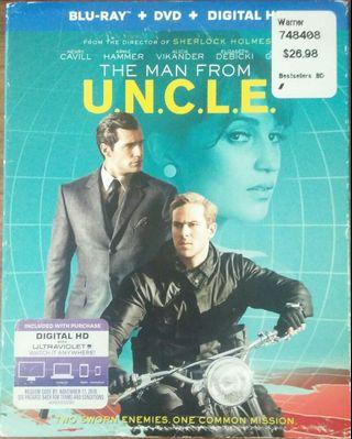 Blu Ray The Man From U.N.C.L.E