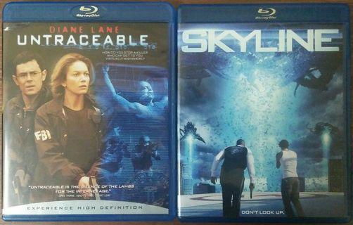 Blu Ray Skyline / Untraceable lot
