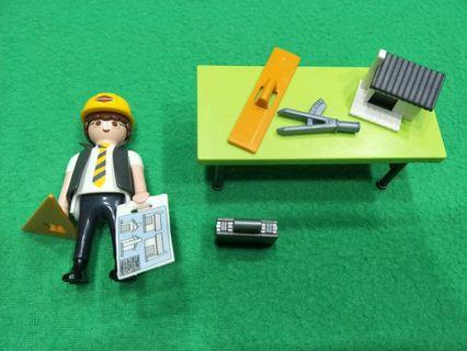 PLAYMOBIL Architect with Planning Table Playset
