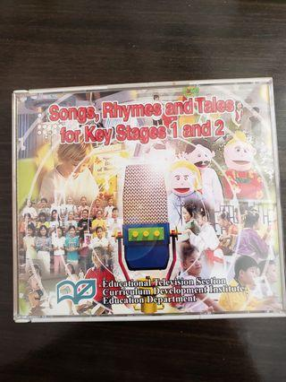 Children's songs CDs
