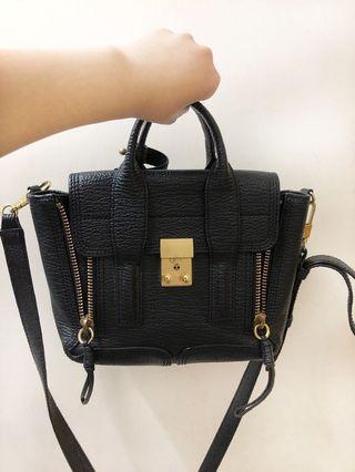 3.1 Phillip Lim Black Pashi mini satchel