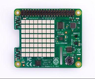 Raspberry Pi 3 SenseHat STEM Model B B+ 加速儀 壓力儀 溫度計 LED 8x8 matrix STEM 玩具 toy