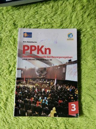 buku ppkn kelas 12 kurikulum 2013