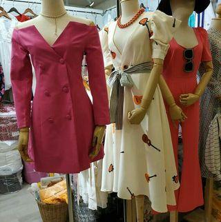 Dress pink & jumpsuit pink
