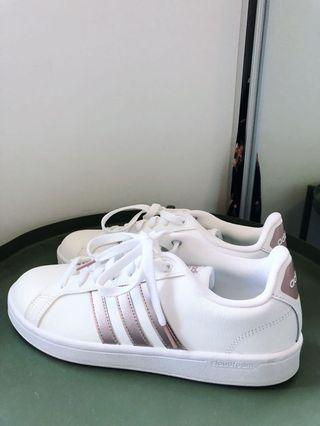 BRAND NEW ADIDAS CLOUDFOAM ROSE GOLD