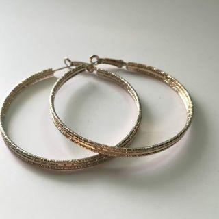 🚚 Gold Hoop Earrings