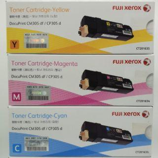 Fuji Xerox Toner Cartridge (CT201633, CT201634, CT201635) Colour