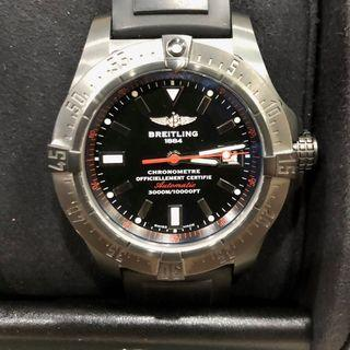 BREITLING, A LIMITED EDITION GENT'S PVD AVENGER SEAWOLF AUTOMATIC DIVER WATCH
