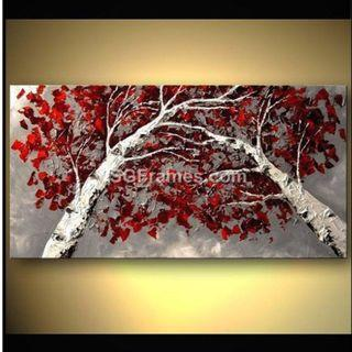 Beautiful Art – Oil on Canvas – Stretched Painting – SGFrames.com