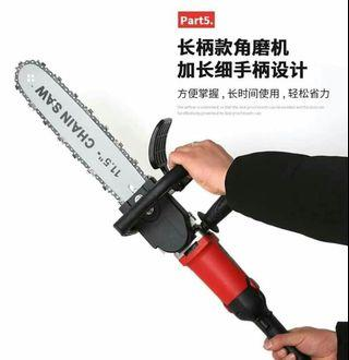 Chainsaw ,drill grinder 3 in 1