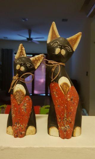 Decorative Cats (Wood)