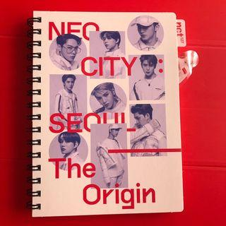 NCT127 - TAEYONG NEO CITY IN SEOUL BOOK + BOOKMARK