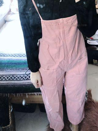 ASOS PINK OVERALLS