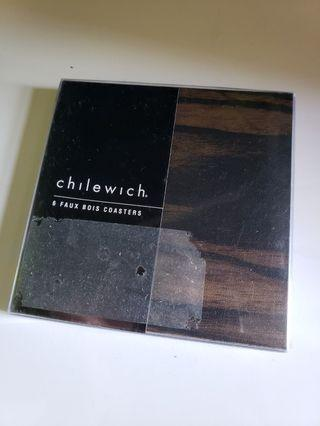 Chilewich 6 ps brand new coasters