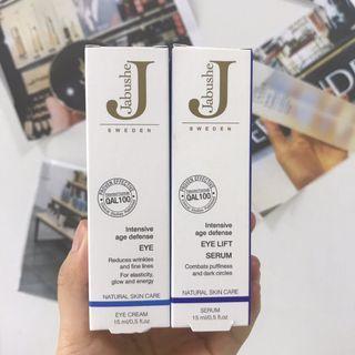 Jabushe 眼霜 + 眼部精華套裝 (各15ml)