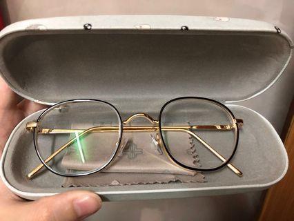Kacamata vintage korean minus (-2.5 kanan&kiri -2.5)