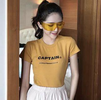 Instock Yellow Captain Shirt