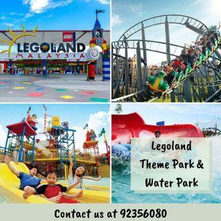 Legoland Theme Park + Water Park [1 Day Combo]