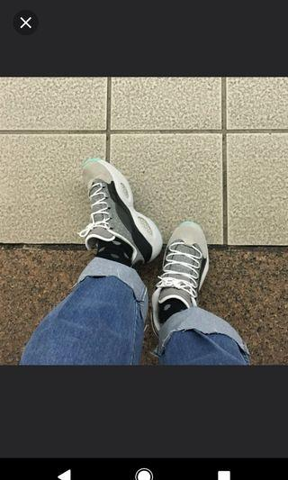古著 韓國絕版厚底鞋