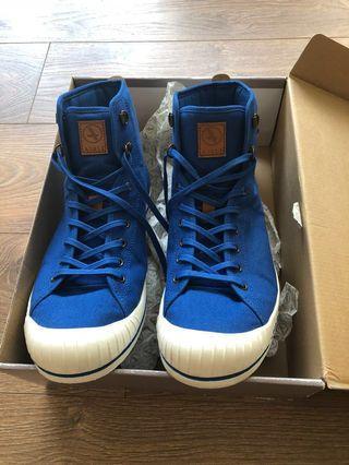 法國 AIGLE Shoes 男裝 高桶布鞋 EUR 44/ UK 9.5 / US 10