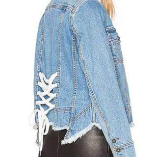 Aje Denim Jacket
